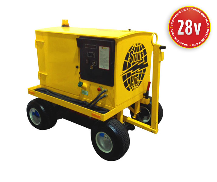 Portable Starting Unit Model Self-Propelled Diesel-Electric Hi-Brd™ 4