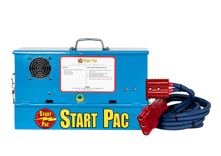 Portable GPU Power Supply & Starting Unit Model SUPER PAC