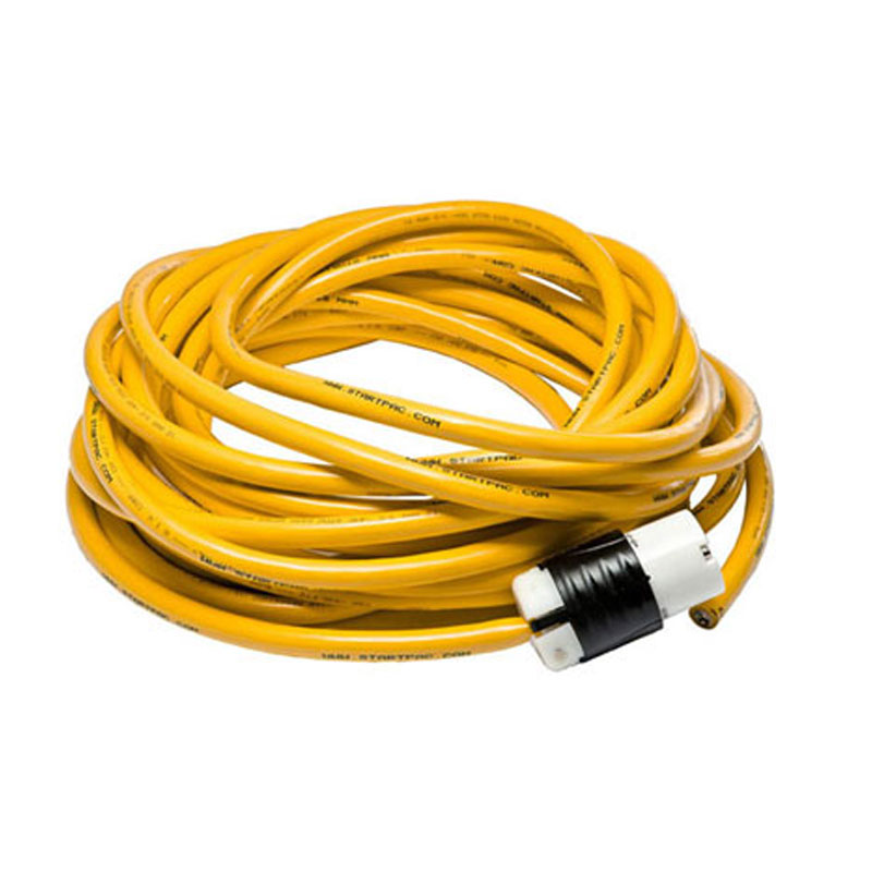 220 V AC Aircraft Grade Extension Cord 25v and 50v