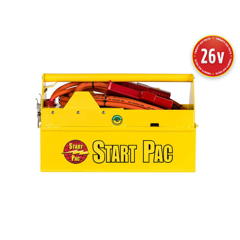 Aircraft 26 volt DC portable starting battery for Aircraft and Helicopters START PAC