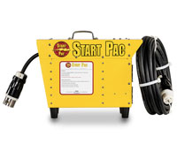 START PAC power supply batteries for aircraft