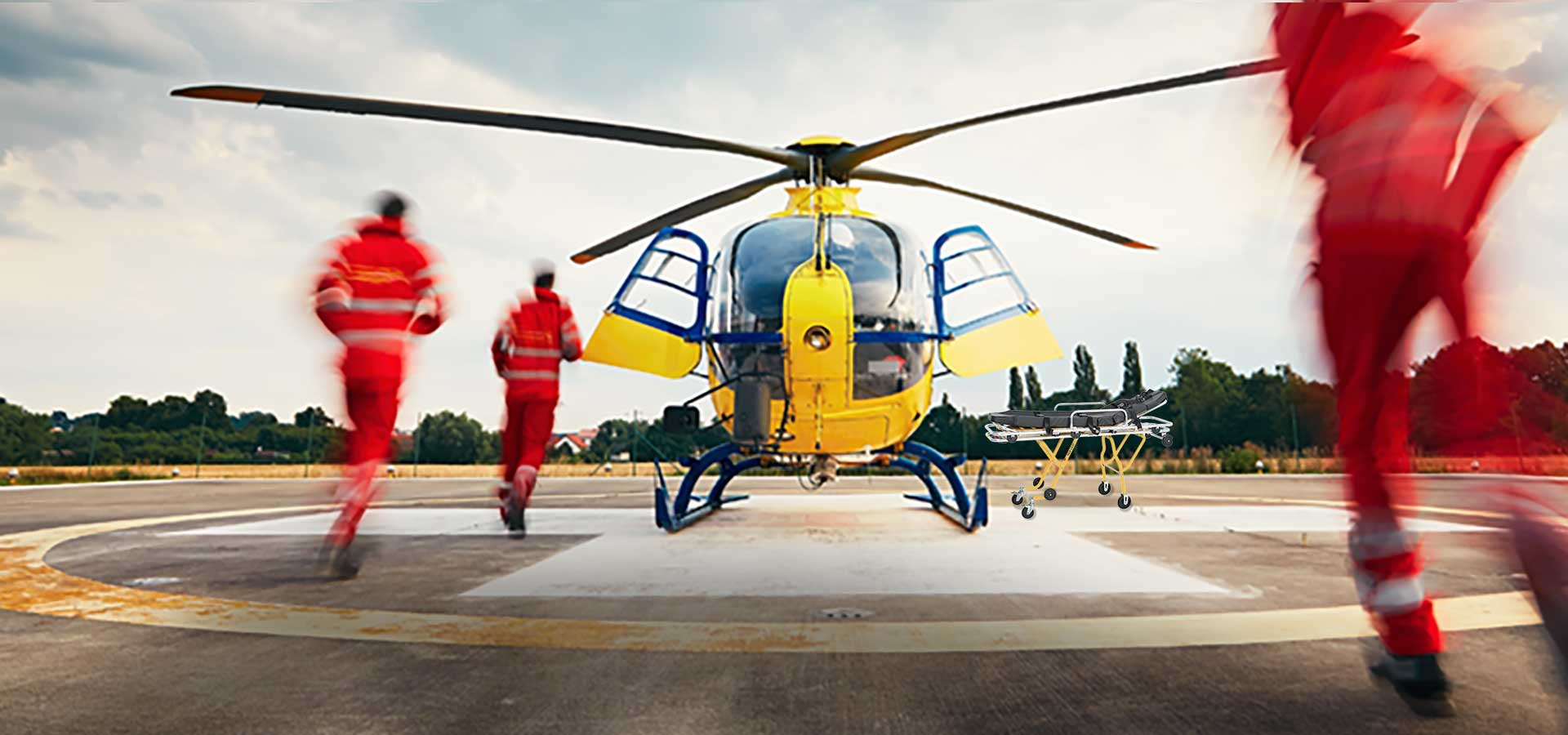Ground Power for Medevac Air Rescue