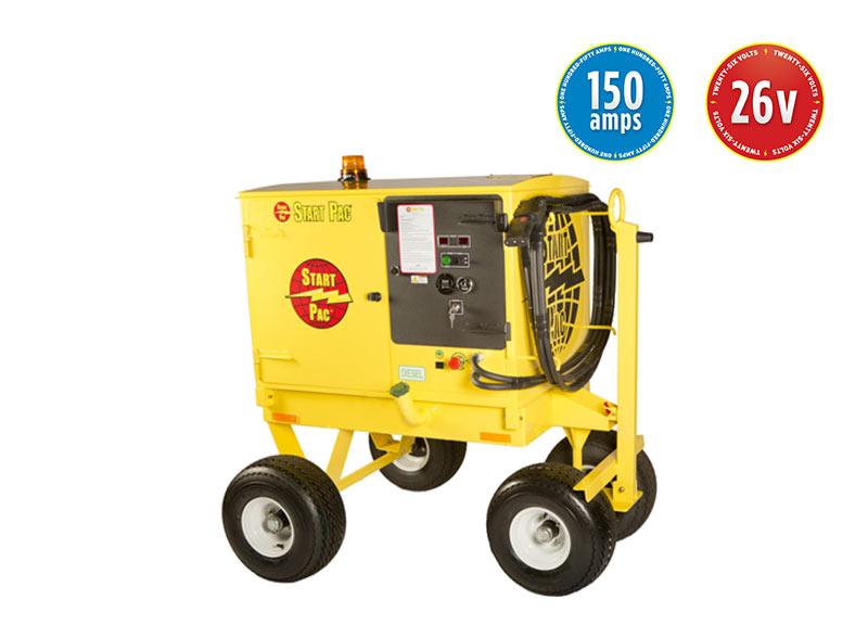 START PAC Range Mobile Ground Power Unit 26v 150amp